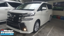 2016 TOYOTA VELLFIRE Z 8s P/Boot 4CAM Unreg 1 YEAR WARRANTY