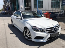 2015 MERCEDES-BENZ E-CLASS  2.1 AMG BlueTEC Sedan ( W212 ),Warrantly Till 2019