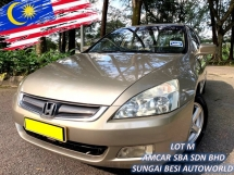 2004 HONDA ACCORD 2.0 VTI I-VTEC LEATHER [SELL BELOW MARKET]