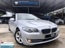 2011 BMW 5 SERIES 530i 3.0 Full Spec F10 - Japan Imported - Register 2014 - VIP condition - Sunroof -  Well Maintain - 63K KM MIleage only - Nice Plate No - Offer Mega Sale - Deal Sampai Jadi