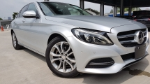 2015 MERCEDES-BENZ C-CLASS C180 Avantgarde Radar Safety Keyless Entry Unreg Sale Offer