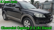 2008 CHEVROLET CAPTIVA 2.0 (A) DIESEL FWD FULL LEATHER SEAT CASH OR CREDIT LOAN