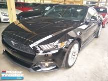 2016 FORD MUSTANG 2.3TURBOCHARGED 6 SPEED 310HP REVERSE CAMERA