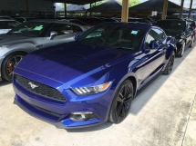 2016 FORD MUSTANG V6 CONVERTIBLE PREMIUM FORD MUSTANG 2.3 COUPE ECOBOOST SHAKER NEW CAR CONDITION (RM) 288,000.00