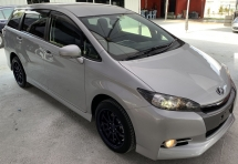 2015 TOYOTA WISH 2015 TOYOTA WISH SPORT 1.8 MPV JAPAN SPEC CAR SELLING PRICE ONLY ( RM 115,000.00 NEGO )
