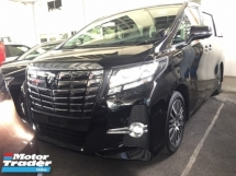 2017 TOYOTA ALPHARD 2.5 SC FULLSPEC.UNREGISTER.TRUE YEAR MADE CAN PROVE.PILOT SEAT.ORI FULL LEATHER.JBL HOME THEATER.SUNROOF.360 SURROUND CAMERA.MEMORY SEAT.LED LIGHT N ETC.FREE WARRANTY N MANY GIFTS