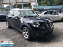 2014 MINI Cooper Unreg Mini Cooper Countyman Crossover 1.6 Push Start 6Speed