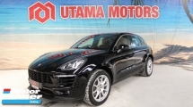 2017 PORSCHE MACAN 3.0 S TWIN TURBO PANORAMIC GLASS SUNROOF RED INTERIOR