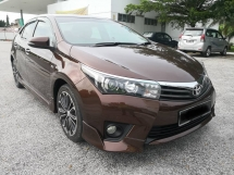 2015 TOYOTA COROLLA ALTIS 2.0 TRD FULL PACKAGE (A) FULL SERVICE RECORD
