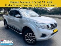 2018 NISSAN NAVARA NP300 2.5 (A) VL Full Service Under Warranty 4X4 4WD Pick Up