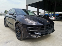 2015 PORSCHE MACAN 3.6L TURBO RED LEATHER SEATS/HIGH SPEC - UNREG -