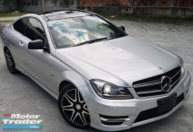 2014 MERCEDES-BENZ C-CLASS 2014 MERCEDES BENZ C250 COUPE SPORT 1.8 AMG FACELIFT JAPAN SPEC CAR SELLING PRICE ONLY RM 158,000.00