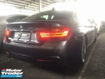 2014 BMW 4 SERIES 420I M SPORT GRAN COUPE 4 DOORS.UNREGISTER.TRUE YEAR MADE.HIGHSPEC.JAPAN.PADDLE SHIFT.AUTO BRAKE SYSTEM.LANE ASSIST.MEMORY SEAT.REVERSE CAMERA.LED LIGHT.FREE WARRANTY N MANY GIFTS