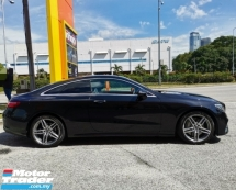 2017 MERCEDES-BENZ E-CLASS E300 Coupe Full Option Spec with Digital Meter. BURMESTER Sound System. Electric Seat With Memory