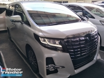2017 TOYOTA ALPHARD 2.5 SC FULL SPEC SURROUND 360 CAMERA PRE CRASH STOP SYSTEM SUNROOF WINDOW FRAME
