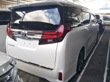 2016 TOYOTA ALPHARD 2.5 SC FULL SPEC PRE CRASH STOP SYSTEM SUNROOF SURROUND 360 CAMERA POWER BOOT WINDOW FRAME