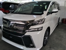 2015 TOYOTA VELLFIRE 2.5 ZG FULL SPEC PRE CRASH STOP JBL SOUND SYSTEM SURROUND 360 CAMERA WINDOW FRAME
