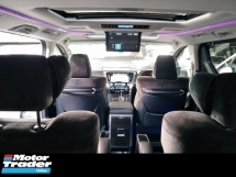 2016 TOYOTA VELLFIRE 2.5 ZG FULL SPEC JBL SOUND SYSTEM SUNROOF SURROUND 360 CAMERA WINDOW FRAME