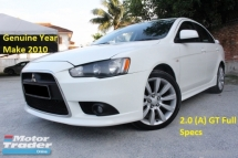 2010 MITSUBISHI LANCER 2.0GT (A) (Ori Year Make 2010)(Loan 7 Years)(1 Owner)