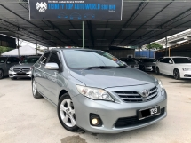 2012 TOYOTA ALTIS 1.8 E, NEW FACELIFT, LADY OWNER, LIKE NEW CONDITION, NEW YEAR PROMOTION