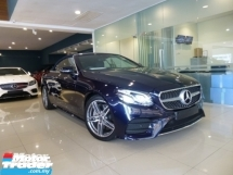 2017 MERCEDES-BENZ E-CLASS E300 AMG Coupe Cabriolet Full Option Spec New CAR Condition* HIGHEST Grade CAR. Genuine LOW Mileage.