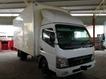 2014 Mitsubishi Fuso  FE83PG 17 ft Box