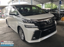 2016 TOYOTA VELLFIRE Unreg Toyota Vellfire Z 8seather 360view PowerBoot Push Start 7G