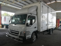 2017 Mitsubishi Fuso FE83PG 17 ft Box
