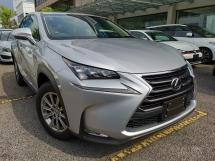 2015 LEXUS NX 200T i PACKAGE OTR PRICE SUNROOF RED LEATHER UNREG