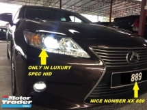 2015 LEXUS ES250 LUXURY FACELIFT 6SPEED OWNER WEEKEND USED NICE NUMBER WILAYAH 889 NEW BREAK SYSTEM NEW TAYAR FULLY SERVISE LIQUIMOLY TOPTEC 4000 BUMP RON97 ONLY SUPER TIP TOP CONDITION