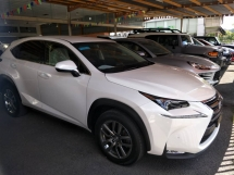 2014 LEXUS NX 200 PREMIUM 2.0L (UNREG) FULL LEATHER POWER BOOT