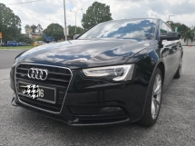 2013 AUDI A5  2.0 Quattro S Line Hatchback SPORT VERSION MMI FACELIFT 4 DOORS