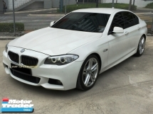 2013 BMW 5 SERIES 528I 2.0 M-SPORT CKD LOCAL 1 DATO OWNER PERFECT CONDITION SUPER HIGH LOAN AVAILABLE ACTUAL YEAR MADE 2013