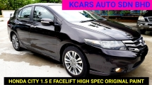2014 HONDA CITY 1.5E F/SPEC ORIGINAL PAINT