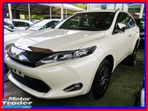 2015 TOYOTA HARRIER 2.0 ELEGANCE WITH LEATHER SEATS AND MEMORY SEAT UNREG