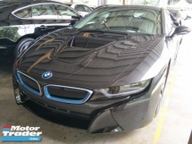 2015 BMW I8 1.5 TURBO HYBIRD  360 SURROUND CAMERA 228 HP  PUSH START PADDLE SHIFT