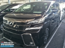 2016 TOYOTA VELLFIRE 2.5 ZG BLACK EDITION 360 SURROUND CAMERA MEMORY SEMI LEATHER PILOT SEATS