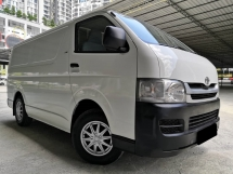 2010 TOYOTA HIACE TOYOTA HIACE 2.5 MT ONE OWNER TIP TOP CONDITION