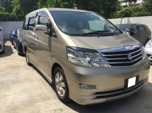 2006 TOYOTA ALPHARD 2.4 (A) Facelift Registered 2009