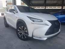 2014 LEXUS NX 2014 Lexus NX200T F Sport Sun Roof Power Boot 2nd Roe Electric Seat Unregister for sale