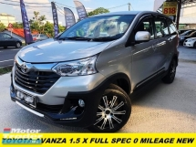 2018 TOYOTA AVANZA 1.5 X FULL SPEC 0 MILEAGE LUCKY DRAW CAR FULLY NEW CAR UNDER WARRANTY OWNER HAVENT USED BEFORE JUST GET IT