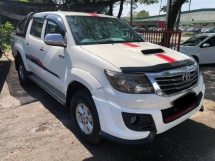 2013 TOYOTA HILUX 2.5 G (A) FULL LOAN ONE OWNER