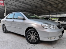 2002 TOYOTA COROLLA ALTIS Toyota Altis 1.8(A) ONE OWNER TIPTOP CONDITION