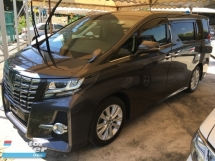 2015 TOYOTA ALPHARD SA SPORT SA MPV POWER BOAT FULL VIEW CAMERA P/CRASS (RM) 225,000.00