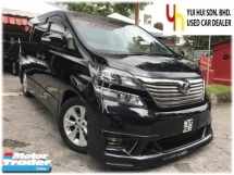2008 TOYOTA VELLFIRE 3.5 V6 (A) POWER BOOT POWER DOOR 1 OWNER