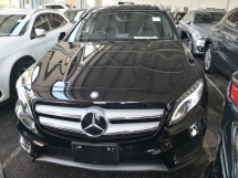 2014 MERCEDES-BENZ GLA GLA180 AMG PRE CRASH ALERT JAPAN UNREG