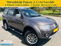 2012 MITSUBISHI PAJERO SPORT 2.5 (A) GS FACELIFT 4WD 7 Seater SUV Full Leather Seats