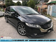 2011 HONDA ODYSSEY ABSOLUTE LIMITED 360