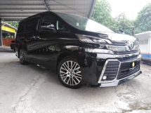 2015 TOYOTA VELLFIRE 3.5Z G EDITION BEST OFFER