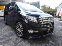 2016 TOYOTA ALPHARD SC 2.5 WITH AUTOPARK JBL STEERING HEATER
